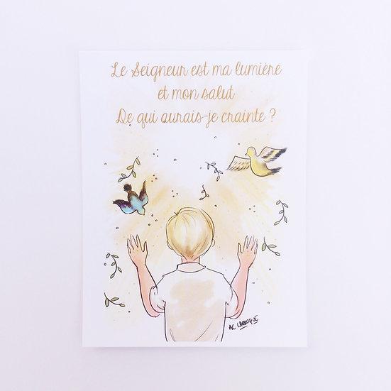 """""""Le Seigneur est ma Lumière"""""""