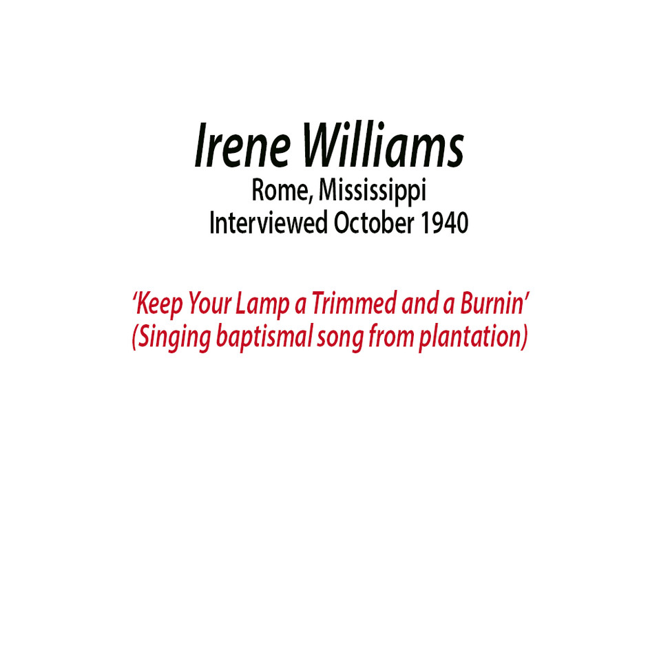 Irene Williams