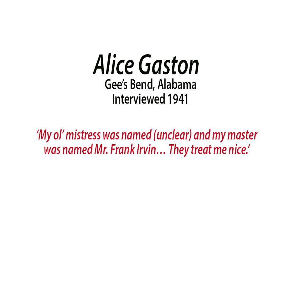Alice Gaston
