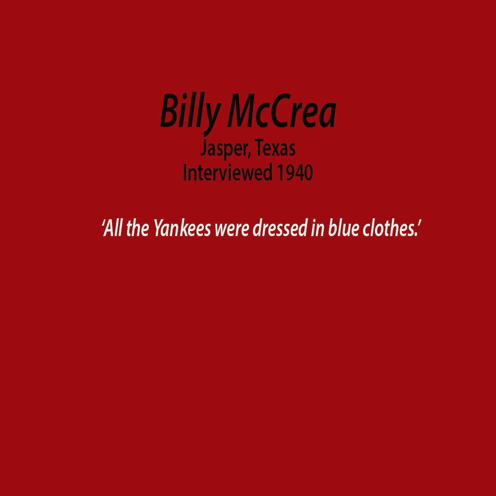 Billy McCrea