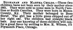 Buchanan and Martha Childs