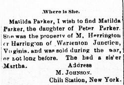 Matilda Parker
