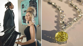 BEYONCE' AND jay z are the new faces of tiffany & co