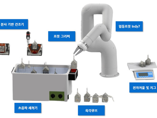 서울디지털재단, 종로 주얼리산업에 협동로봇 지원