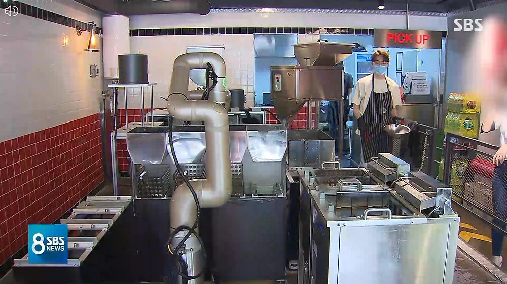 장사하는 치킨봇 · 로봇 바리스타, '푸드테크' 이끈다 (뉴로메카 협동로봇 인디)