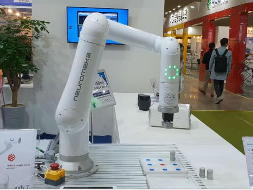 대한민국 협동 로봇 선도기업 '뉴로메카'