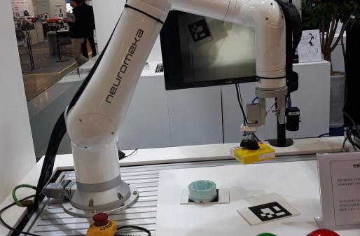 '로보월드 2018'에 등장한 다양한 그리퍼 기술