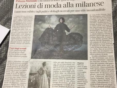 Lezioni di moda alla milanese | Corriere della Sera 22/01/20