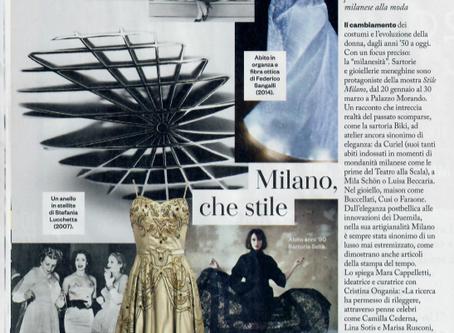 IO in Mostra - Milano, che stile | IO Donna 18/01/20