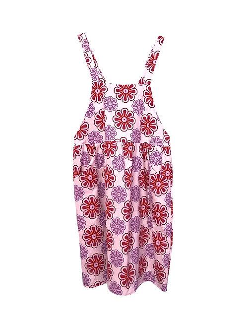 Caroline Dress Retro Flowers