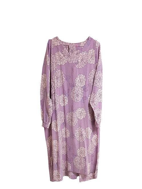 Matilde Dress Purple Flowers