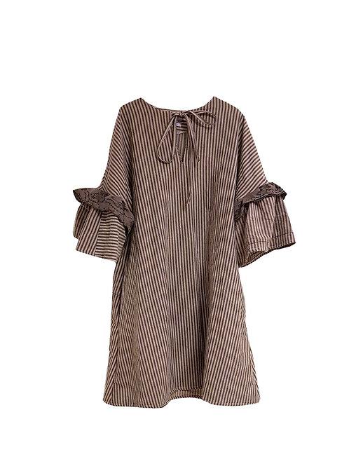 Amalie Dress Stripes