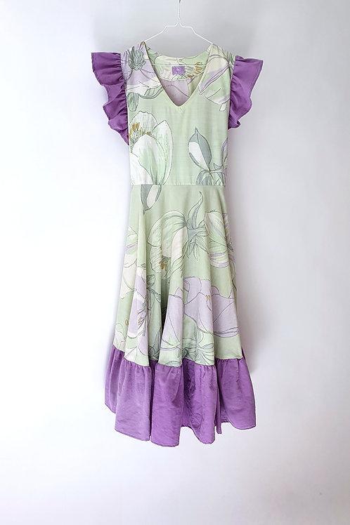 Frida Dress Green Floral