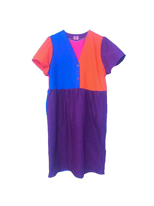 Camilla Dress Colour Block 1