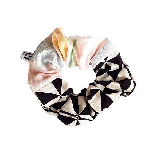 Sally Scrunchie Pastel&Checkers