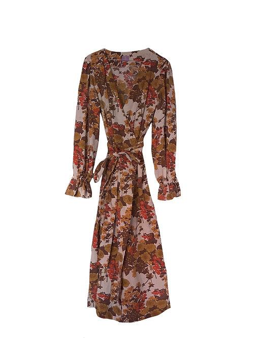 Flora Dress Fall Flowers