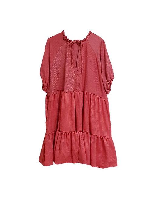 Luna Dress Red