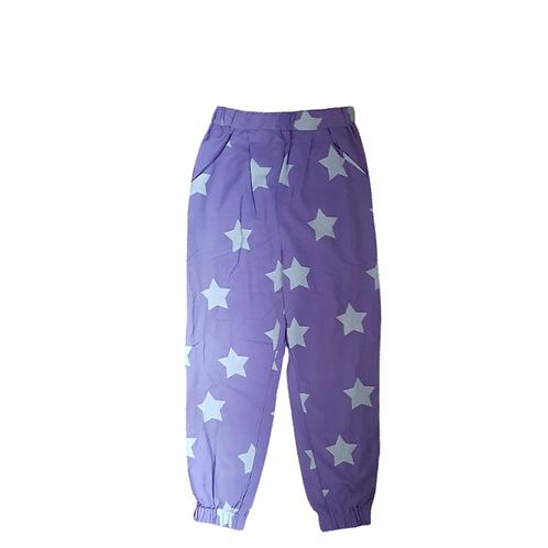 Pants Purple w/ Stars