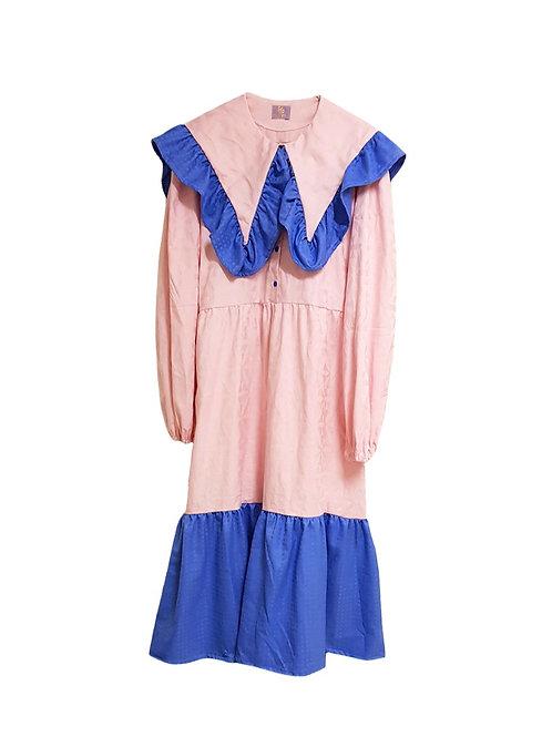 Klara Dress Pink & Blue
