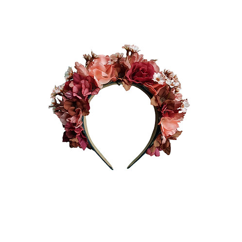 Flowercrown Autumn Rose
