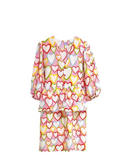 Julia Dress Love Hearts