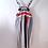 Thumbnail: Caroline Overalls 90's Stripes