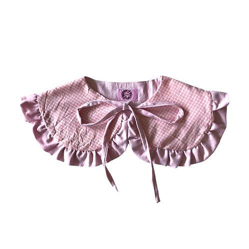 Babydoll Collar Pink Dice