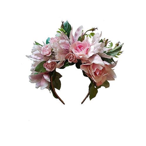 Flowercrown Lady Rose
