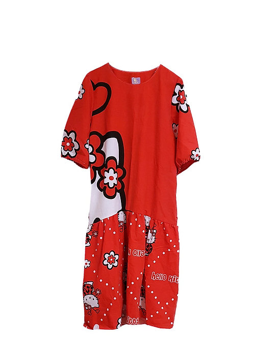 Simone Dress Hello Kitty