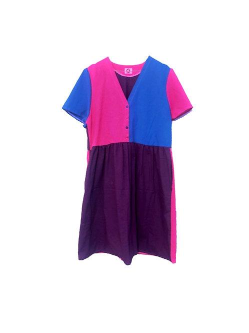 Camilla Dress Colour Block 2