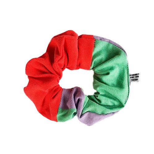 Sally Scrunchie Red&Stripes