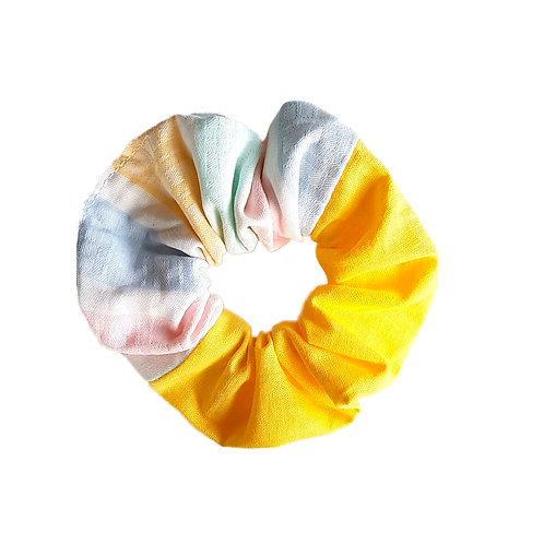 Sally Scrunchie Pastels&Yellow