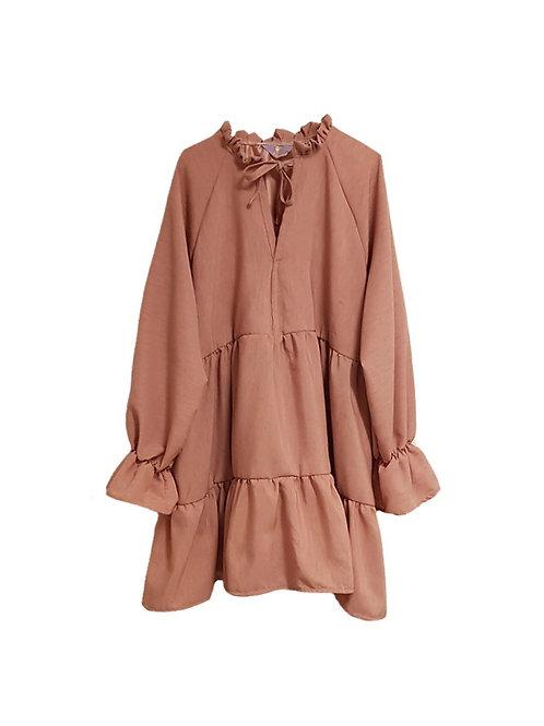 Luna Dress Soft Pink