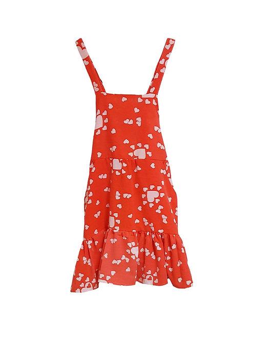 Caroline Dress Love Hearts
