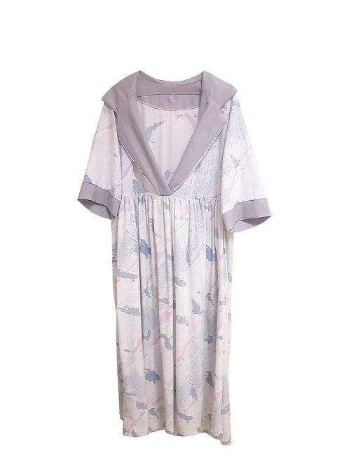 Astrid Dress Long Graphic