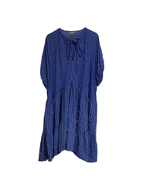 Luna Dress Blue