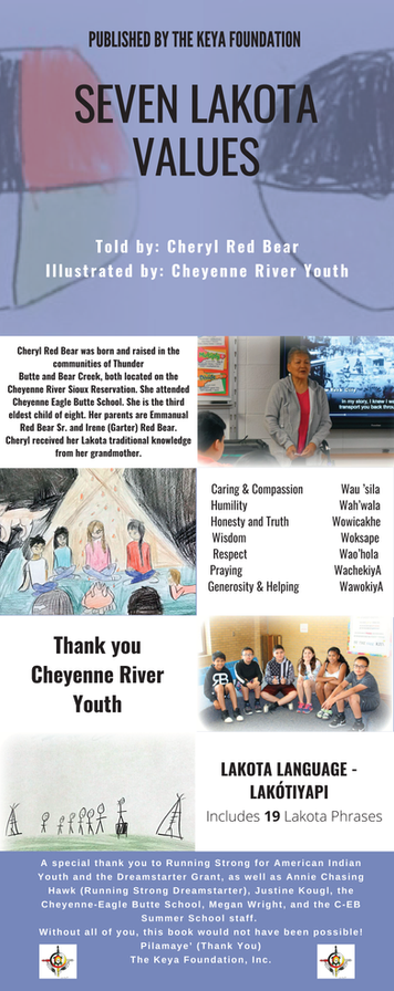 Seven Lakota Values by Cheryl Red Bear