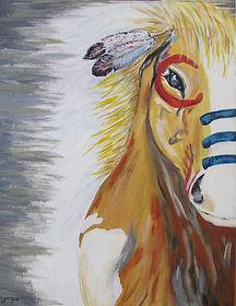 Thunder Pony - Gina Red Bear.jpg