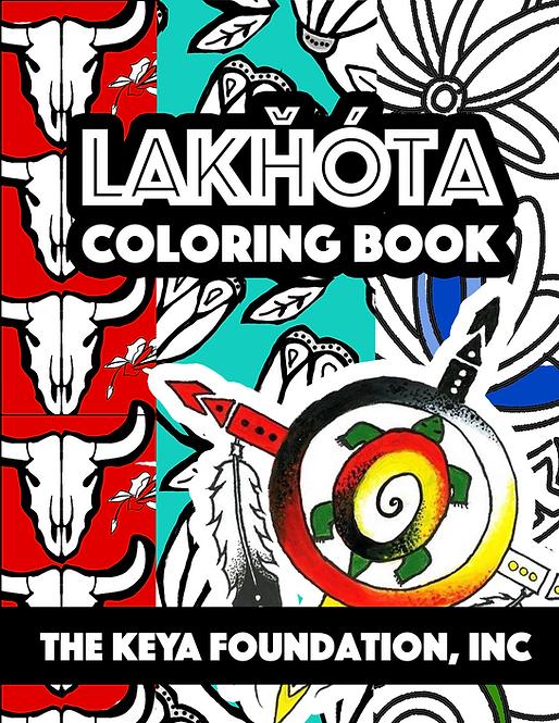 Lakȟóta Coloring Book
