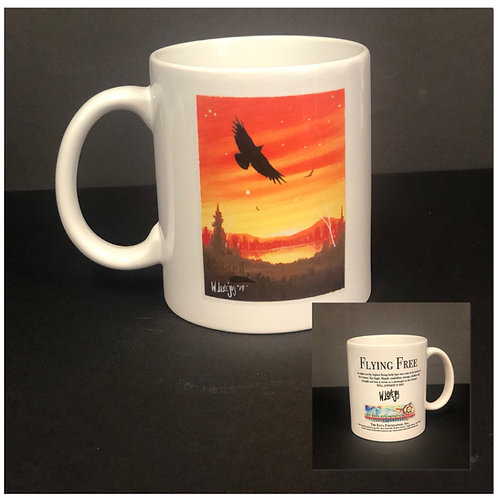 Flying Free Coffee Mug