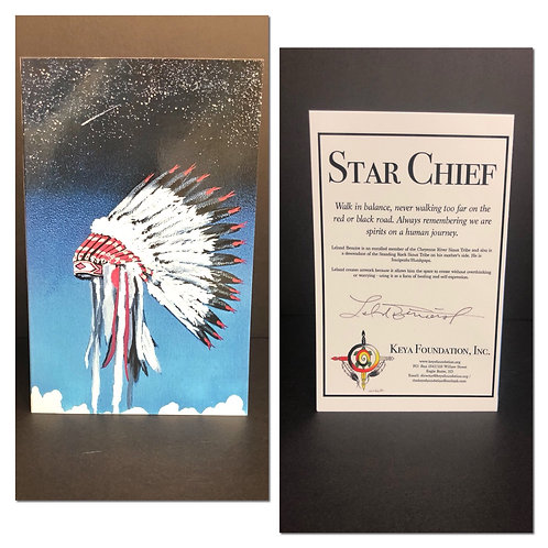 Star Chief Greeting Card