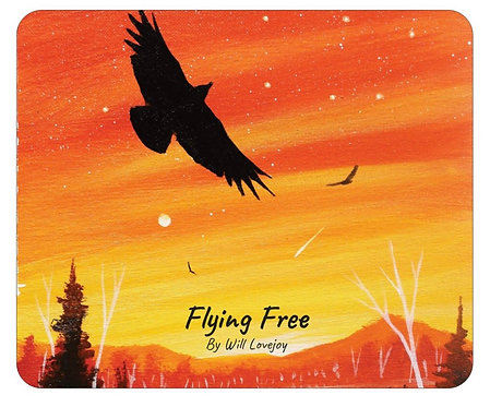 Flying Free Mousepad
