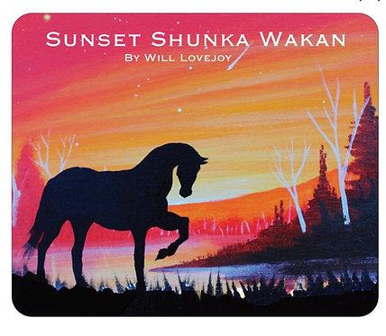 Sunset Shunka Wakan Mousepad
