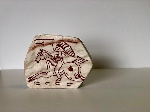 War Horse Prayer Stone