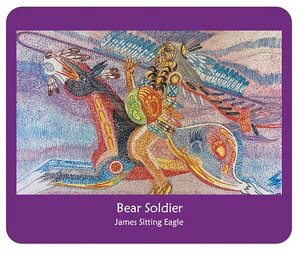 Bear Soldier Mousepad