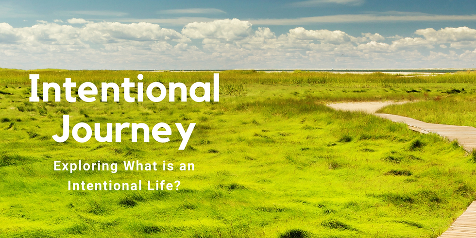 Group life coaching - Intentional Journeys session 1