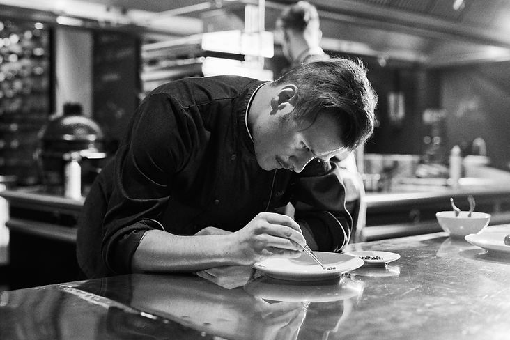 Berlin Commercial Photographer Aleksander Ziarnecki POTS restaurant