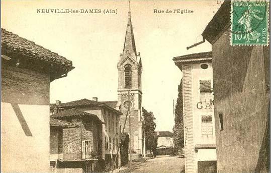 Carte postale ancienne église Saint-Maur