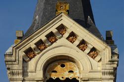 Céramiques décoratives église Saint-Maur