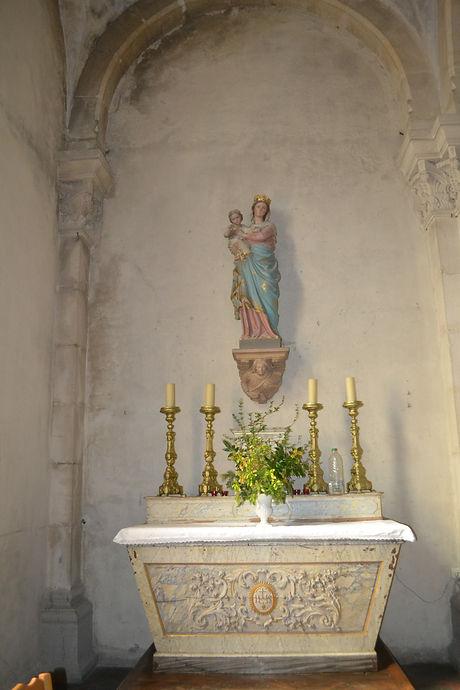 Intérieur église Saint-Maurice